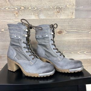 Fly London Lace Up Combat Boots 37